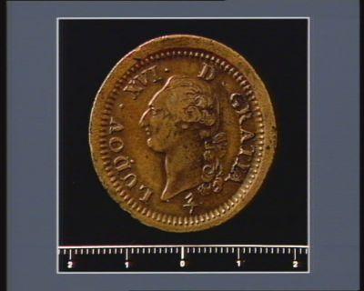 [Monnaie ou médaille de la <em>Révolution</em> française]