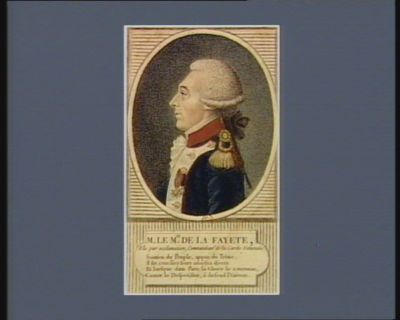 M. le m.is de La Fayette elu par acclamation, commandant de la Garde nationale : [estampe]