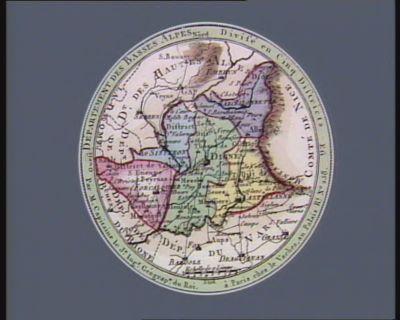 Département des Basses Alpes divisé en cinq districts : [estampe]