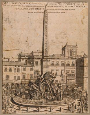 Obelisco Panfilio eretto dalla Santità di N. S. Innocentio X