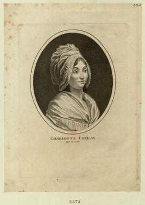 Charlotte Corday agée de 25 ans : [estampe]