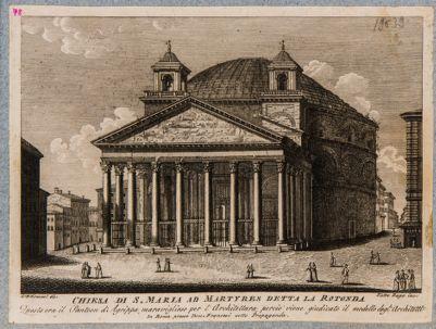 Chiesa di S. Maria ad Martyres detta La Rotonda