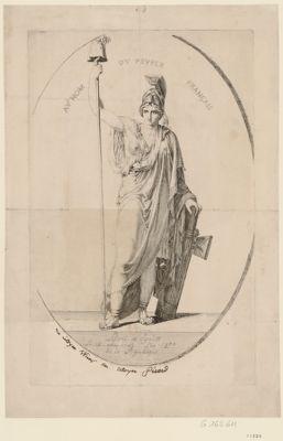 Au nom du peuple français liberté et egalité le 10 août 1792, l'an 1.er de la République : [estampe]