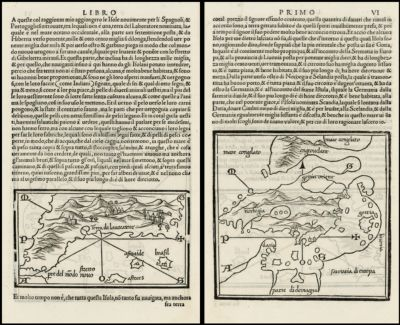 (Coast of North America and Mythical Islands in the Atlantic) and (Scandinavia, Baltic, etc)