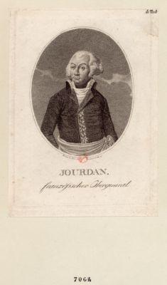 Jourdan französischer Obergeneral : [estampe]