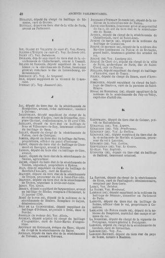 Tome 33 : Table générale alphabétique de l'Assemblée nationale Constituante - page 48