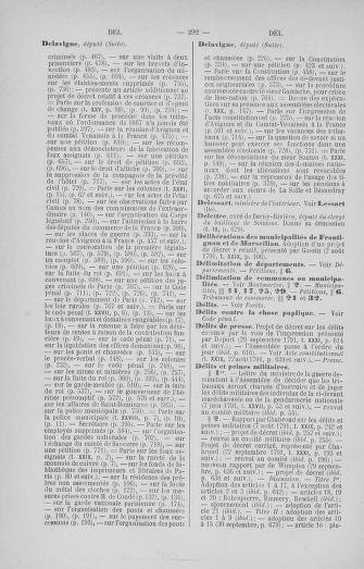 Tome 33 : Table générale alphabétique de l'Assemblée nationale Constituante - page 292