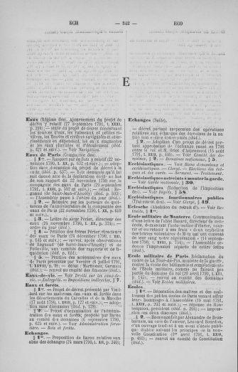 Tome 33 : Table générale alphabétique de l'Assemblée nationale Constituante - page 342