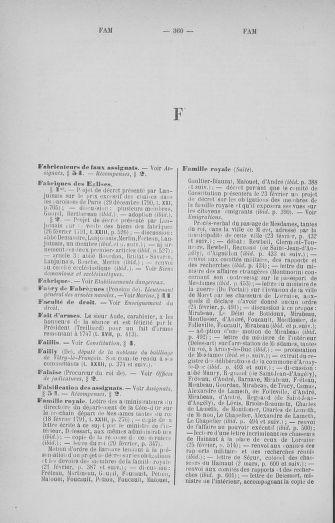 Tome 33 : Table générale alphabétique de l'Assemblée nationale Constituante - page 360