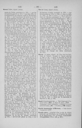 Tome 33 : Table générale alphabétique de l'Assemblée nationale Constituante - page 383