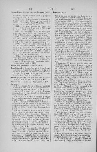 Tome 33 : Table générale alphabétique de l'Assemblée nationale Constituante - page 418
