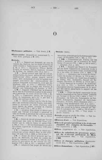 Tome 33 : Table générale alphabétique de l'Assemblée nationale Constituante - page 552