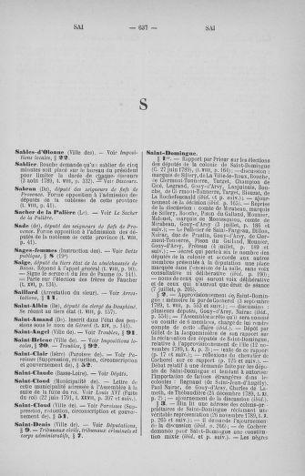 Tome 33 : Table générale alphabétique de l'Assemblée nationale Constituante - page 637