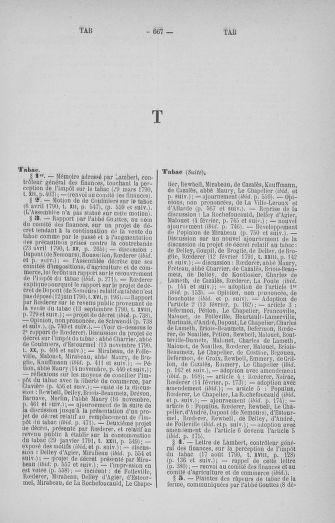 Tome 33 : Table générale alphabétique de l'Assemblée nationale Constituante - page 667