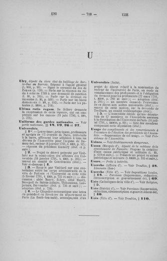 Tome 33 : Table générale alphabétique de l'Assemblée nationale Constituante - page 710