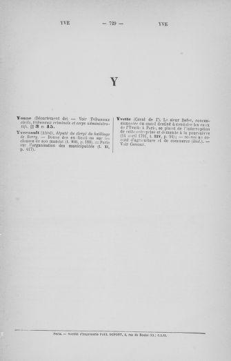Tome 33 : Table générale alphabétique de l'Assemblée nationale Constituante - page 729