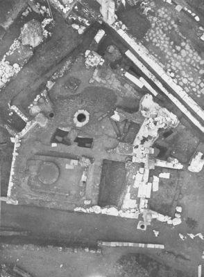 Regia, aerial view