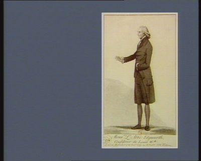 Mons.r l'abbé Edgeworth confesseur de Louis 16th : [estampe]