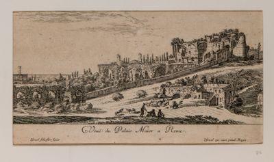 Veduta del Palazzo Maggiore a Roma