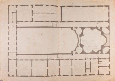 Palazzo della Sapienza. Pianta generale del I piano