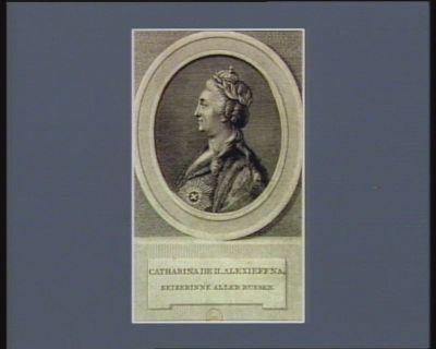 Catharina de II Alexieffna keizerinna aller Russen : [estampe]