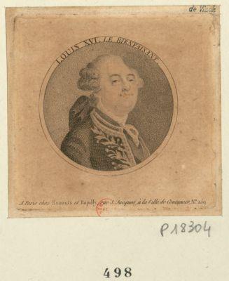 Louis XVI roi <em>des</em> Français bonest <em>de</em> la liberté preisanté au Roi par le peuple français le <em>20</em> <em>juin</em> <em>1792</em> : [estampe]