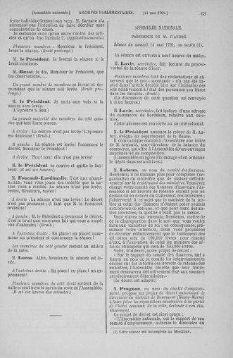 Tome 26 : Du 12 mai au 5 juin 1791 - page 63