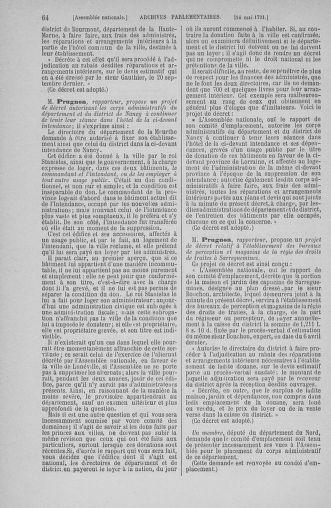 Tome 26 : Du 12 mai au 5 juin 1791 - page 64
