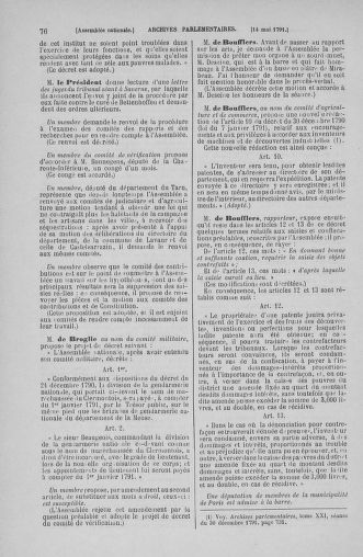 Tome 26 : Du 12 mai au 5 juin 1791 - page 76