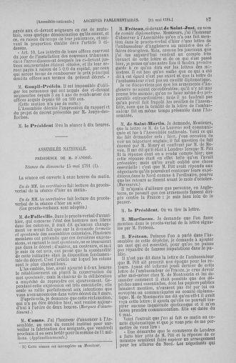 Tome 26 : Du 12 mai au 5 juin 1791 - page 87