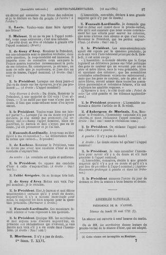 Tome 26 : Du 12 mai au 5 juin 1791 - page 97