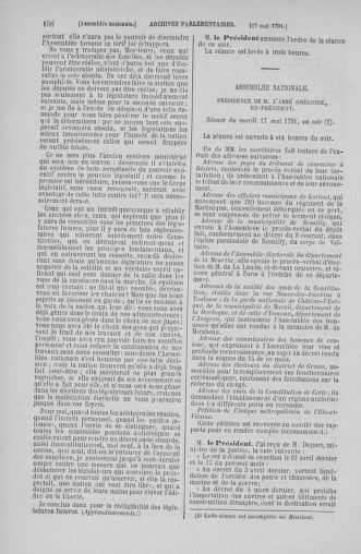 Tome 26 : Du 12 mai au 5 juin 1791 - page 156