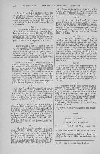 Tome 26 : Du 12 mai au 5 juin 1791 - page 244