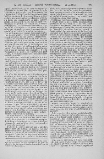 Tome 26 : Du 12 mai au 5 juin 1791 - page 279