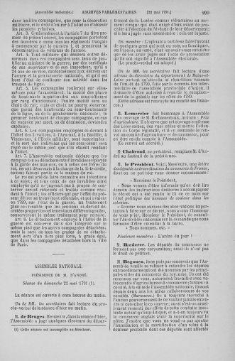 Tome 26 : Du 12 mai au 5 juin 1791 - page 299