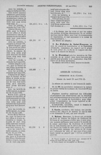 Tome 26 : Du 12 mai au 5 juin 1791 - page 309