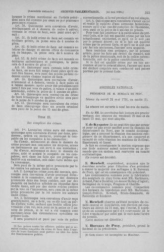 Tome 26 : Du 12 mai au 5 juin 1791 - page 345