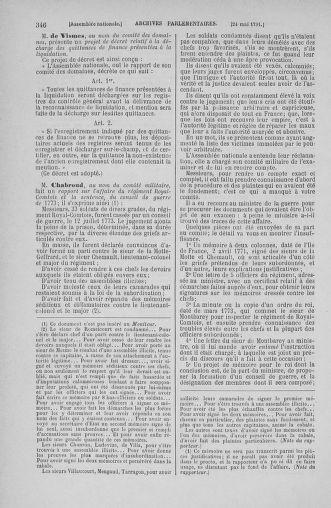 Tome 26 : Du 12 mai au 5 juin 1791 - page 346