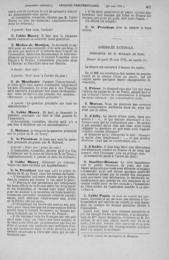 Tome 26 : Du 12 mai au 5 juin 1791 - page 461