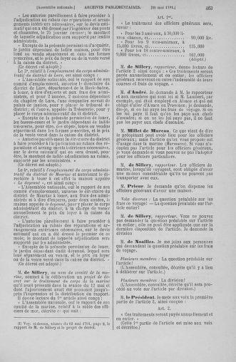 Tome 26 : Du 12 mai au 5 juin 1791 - page 463