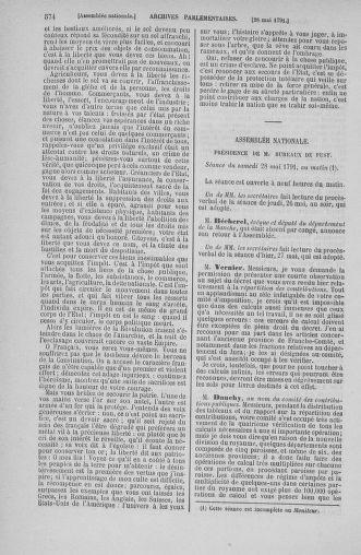 Tome 26 : Du 12 mai au 5 juin 1791 - page 574
