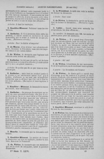 Tome 26 : Du 12 mai au 5 juin 1791 - page 625