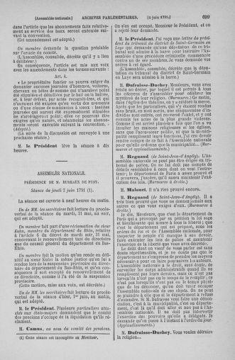 Tome 26 : Du 12 mai au 5 juin 1791 - page 699