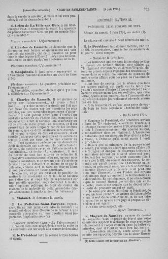 Tome 26 : Du 12 mai au 5 juin 1791 - page 731