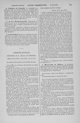 Tome 26 : Du 12 mai au 5 juin 1791 - page 743