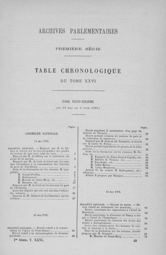 Tome 26 : Du 12 mai au 5 juin 1791 - page 769