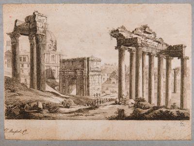 Foro Romano, panorama verso sud