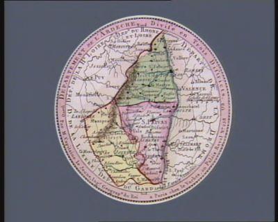 Département de l'Ardeche divisé en trois districts : [estampe]