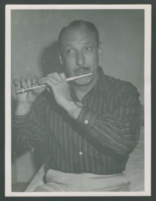 Bob Helm with piccolo