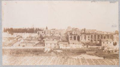 Palatino, resti della Domus Severiana verso Circo Massimo